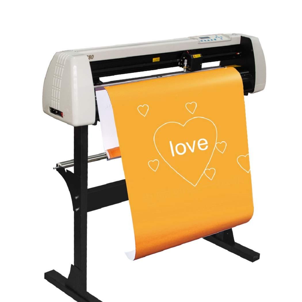 ixaer Vinyl Cutter Plotter Machine Vinyl Printer Cutter Machine LCD Display, Shipping from USA by ixaer (Image #6)