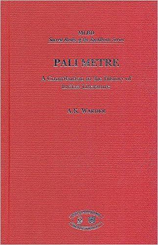 Warder Pali Metre cover art