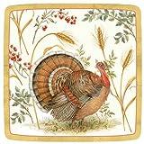 Thanksgiving Paper Plates Thanksgiving Dessert Plates Thanksgiving Table Decor Turkey Plates Pk 16