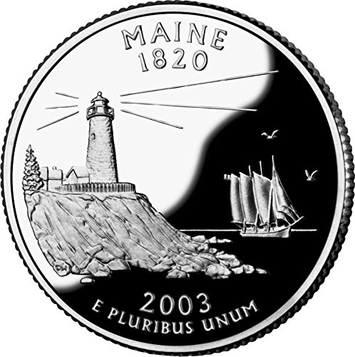 2003 Maine – P State Quarter Roll