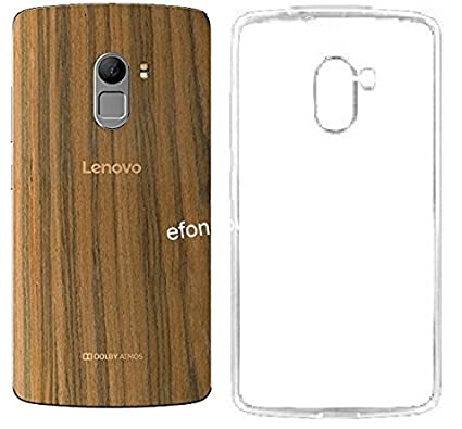 hot sale online eee31 6f962 Efonebits(TM) Transparent Premium Soft Silicone Back Case Cover for Lenovo  Vibe K4 Note (Wooden Edition)