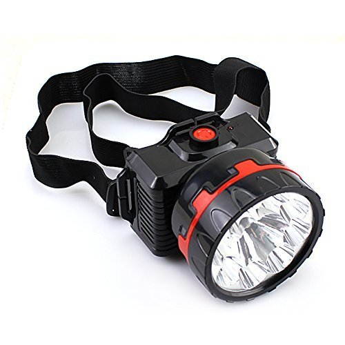 Buy Fsi Powerful Ultra Bright Head Torch LED Rechargeable Lamp - 10 Watts  (Black) Online at Low Prices in India - Amazon.in