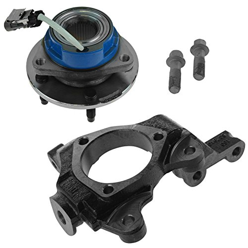 Front Passenger Side Wheel Hub and Bearing Assembly & Steering Knuckle (Front Spindle Knuckle)