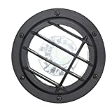 Hampton Bay HD38725 Low Voltage LED Black Well Light