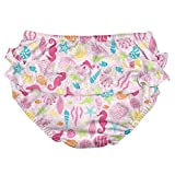 i Play Girls Swim Diaper Pink Sealife-24 Months