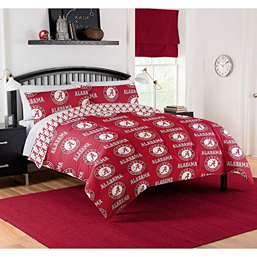 Alabama Crimson Tide Queen Comforter & Sheet Set