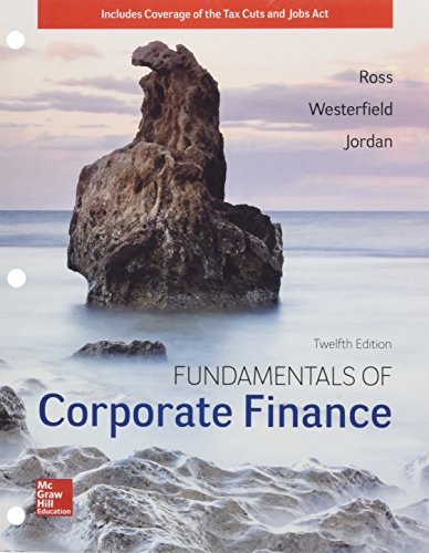 - GEN COMBO LL FUNDAMENTALS OF CORPORATE FINANCE; CONNECT ACCESS CARD (Mcgraw-hill Education Series in Finance, Insurance, and Real Estate)