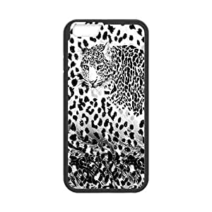 Iphone 6 Leopard Phone Back Case DIY Art Print Design Hard Shell Protection FG027471