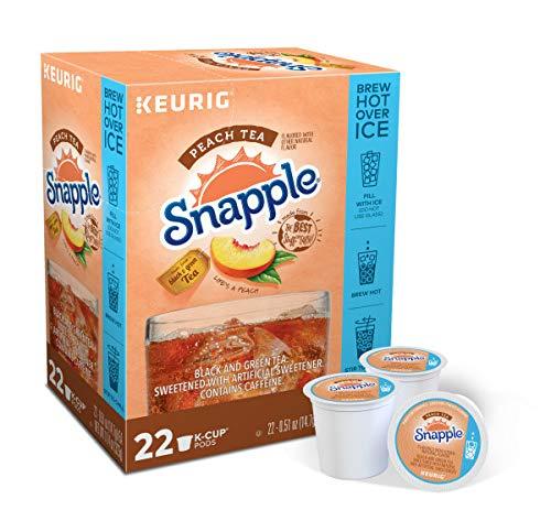 Snapple Peach Tea Keurig K-Cups, 88-count by Snapple (Image #1)