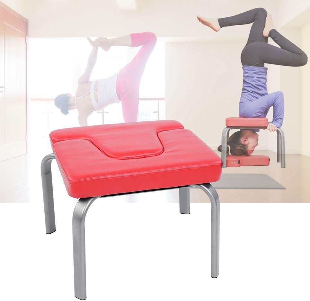 EBTOOLS Taburete de Yoga Silla de Fitness Ejercicios Banco de Soporte Cabeza de Mano al Revés Inversión Elevación de Cuerpo