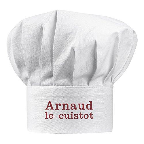 Cappello da chef adulto con nome ricamato Angolo del Regalo