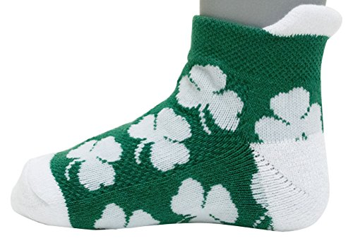 (Donegal Bay NCAA Notre Dame Fighting Irish Unisex Irish Baby Footie Sockirish Baby Footie Sock, Green, BAX 12-24 Months)