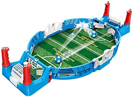 Liu Yu·casa creativa Mini Juego de fútbol de Mesa, Juegos de Mesa de fútbol portátiles, Juguetes de fútbol de Entrenamiento, Juguetes Deportivos de Oficina interactivos para niños Adultos: Amazon.es: Hogar