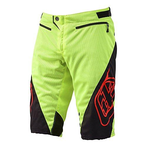 Troy Lee Designs Boys Sprint BMX Racing Short, Flo Yellow, 26 by Troy Lee Designs