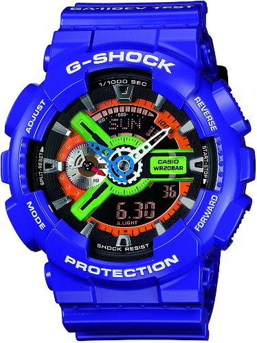 CASIO watch G-SHOCK x EVANGELION Unit1 GA-110EV-6AJR