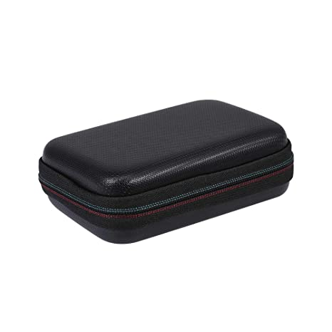 Docooler Hard Drive Carrying Case Portable Storage Bag EVA Shockproof Impact Resistant Hard Case for Samsung T5 T3 250//500G//1T//2T SSD Silicone Protective Cover