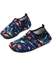 15b2fa69d666 Lewhosy Kids Boys and Girls Swim Water Shoes Quick Drying Barefoot Aqua  Socks Shoes for Beach