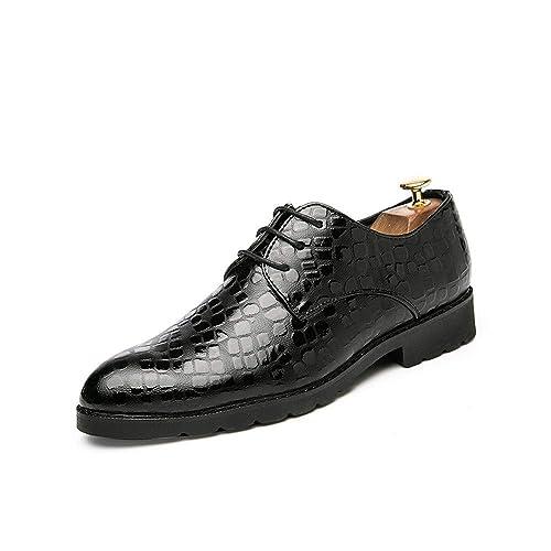Amazon.com: Zapatos de hombre para negocios, modernos Oxford ...