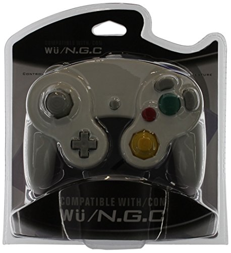 Gen Two GameCube/Wii Compatible Controllers, White (Wholesale Wii)