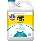 Purina Tidy Cats LightWeight Instant Action Multiple Cats Clumping Cat Litter - (2) 8.5 lb. Jugs