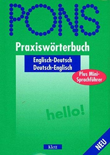 PONS Praxiswörterbuch plus / Mit Sprachführer: PONS Praxiswörterbuch plus, Englisch