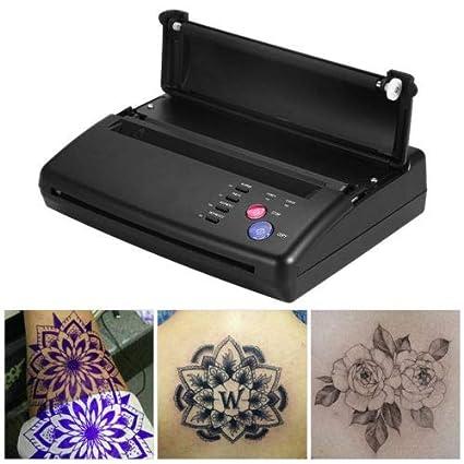 Negro A4 Thermal thermischen fotocopiadora impresora Tattoo ...