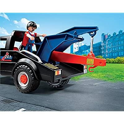 PLAYMOBIL Tow Truck Playset: Toys & Games