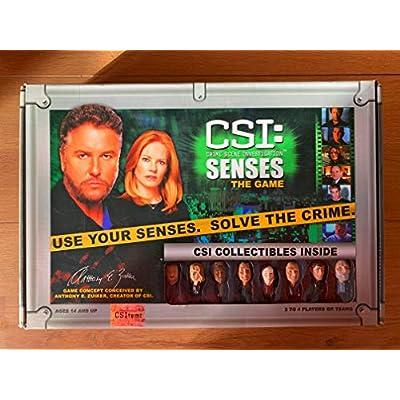 CSI: Senses; The Game: Toys & Games