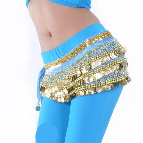 Écharpe de Hip avec Style Idée jupe de Belly Noël de Cadeau Dance 6 paillettes wqE5xg6tX