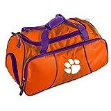 Orange Auburn University Duffel Bag 22Inch, Polyester, MultiCompartment
