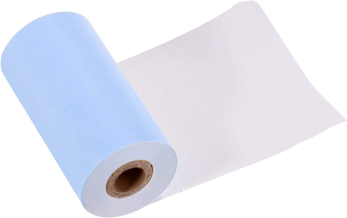 3 Rollen Kompatibel mit Poooli Thermodrucker 2,17 * 1,18 Zoll Topuality Poooli Buntes leeres Thermopapier Langlebige 5-j/ährige Papierrolle BPA-frei 57 30 mm