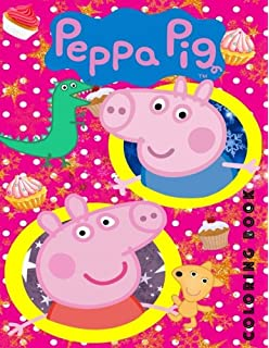 Peppa Pig Adventures with Peppa (Giant Coloring Book): Parragon ...