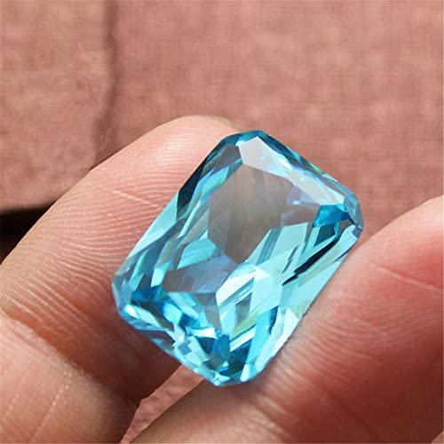 Stunning AAA Radiant Shape Cut Stone Loose Gemstone For Making Jewelry 18X8X6 mm MS-139 Quality 100/% Natural Aquamarine 7.15 Ct