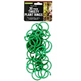 123-Wholesale - Set of 36 Twisty Plant Rings - Lawn & Garden Garden Tools