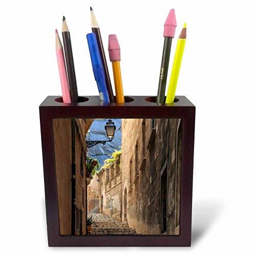 3dRose Danita Delimont - Architecture - Spain, Balearic Islands, Mallorca, Palma de Mallorca, street scenes - 5 inch tile pen holder (ph_277903_1) by 3dRose