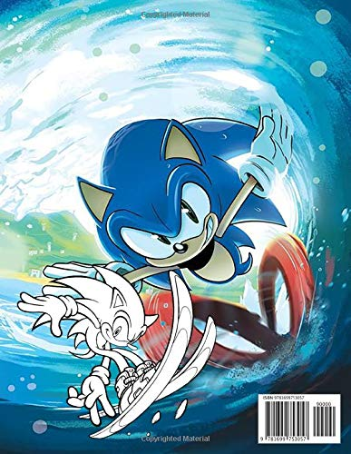 Sonic Coloring Book: Ultimate Color Wonder Sonic The Hedgehog Coloring Book Pages & Markers, Mess Free Coloring, Wonderful Gift for Kids And Adults: Amazon.es: Levitt, Jay: Libros en idiomas extranjeros