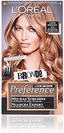 LOreal Paris Preference Mechas Sublimes Prefrerence, Tono: 002 Dark to Light Blond