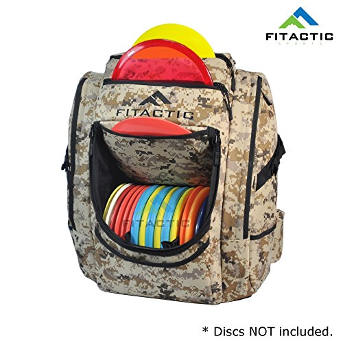 28 Golf (FITACTIC Luxury Frisbee Disc Golf Bag Backpack (Capacity: 25-30 Discs) (Digital Desert Camouflage))