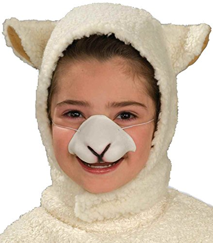 [Forum Sheep Hood and Nose Child Set Costume] (Childrens Sheep Costumes)