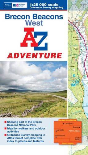Brecon Beacons (West) Adventure Atlas 1:25K A-Z (A-Z Adventure Atlas) PDF