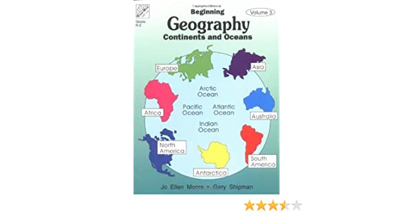 Beginning Geography: Continents & Oceans: Evan-Moor Educational ...
