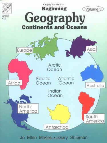 Workbook continents for kids worksheets : Beginning Geography: Continents & Oceans: Evan-Moor Educational ...