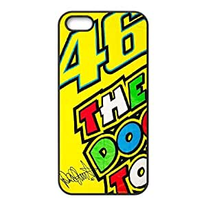 iPhone 5 5s Cell Phone Case Black Valentino Rossi as a gift Y4601767