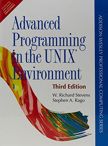 3 ed - Advanced Programming in the UNIX Environment by Pearson India
