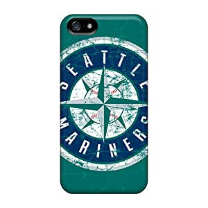 Fashionable Style Case Cover Skin For Iphone 5/5s- Seattle Mariners