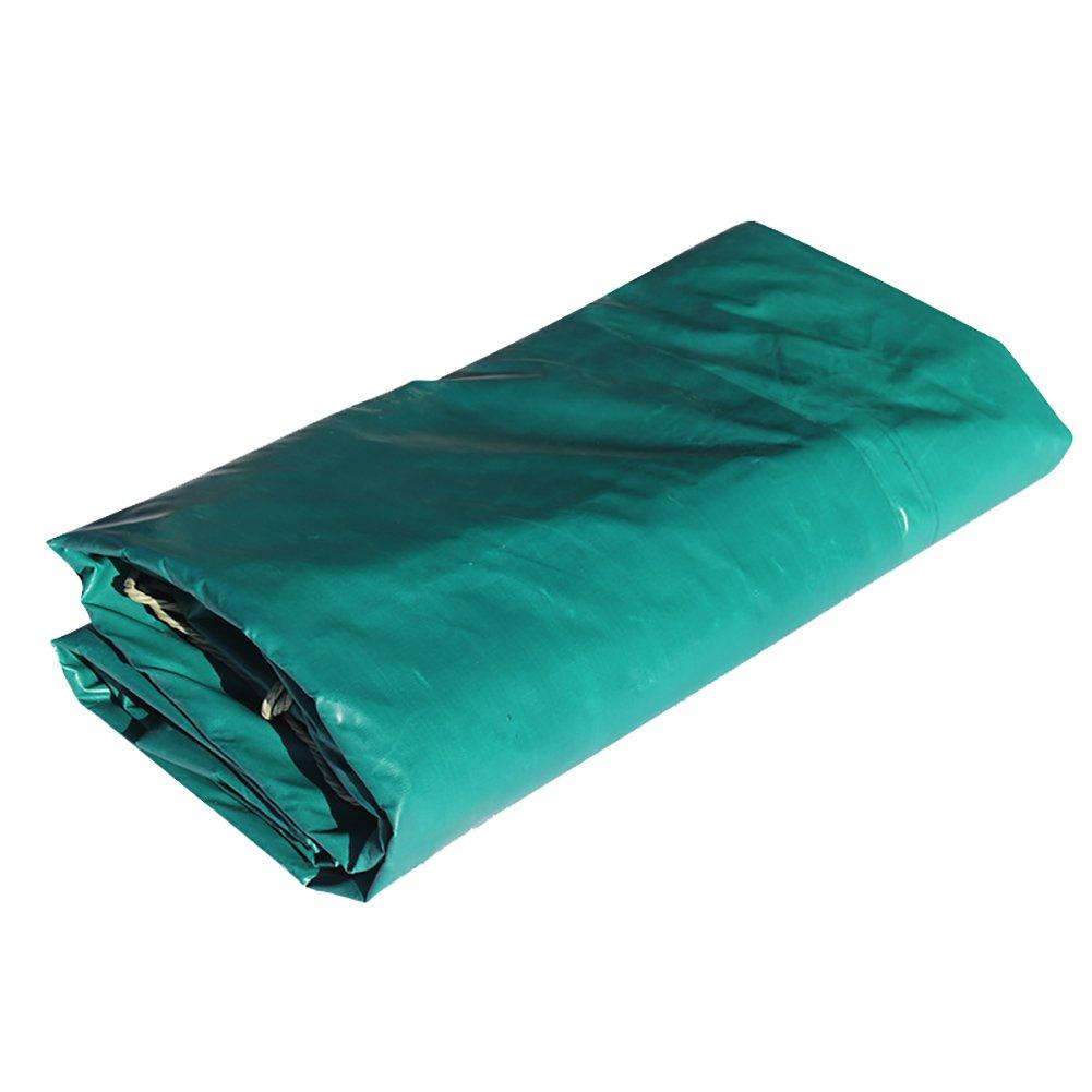 GUOWEI-pengbu ターポリン シェード カバー 防火 日焼け止め 難燃剤 防水 厚い ガラス繊維 緑 屋外 (色 : Green, サイズ さいず : 3.8x4.8m) B07FVYK1WJ  Green 3.8x4.8m