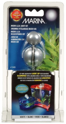 Marina LED Light Unit for Betta and Goldfish Kits w/cUL (Hagen Marina Led)