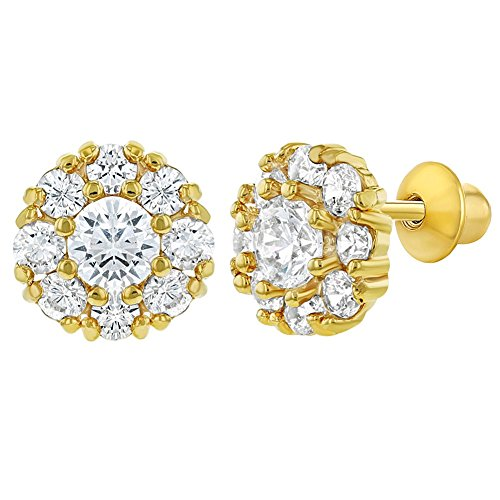 Top 10 recommendation gold earrings for baby girls 18k 2019