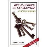 Breve Historia de la Argentina, José Luis Romero, 9505576145
