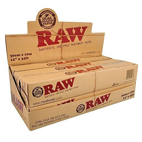 6pc Display - Raw® Rawthentic Unrefined Parchment Paper Roll by Raw (Image #1)